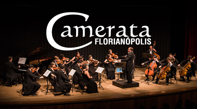 Live erudita da Camerata Florianópolis acontece no sábado dia 29