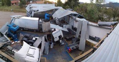Santa Catarina registra problemas mesmo 48 horas após ciclone.