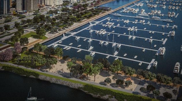 Parque Marina da Beira-mar norte está aprovado pelo TCE.