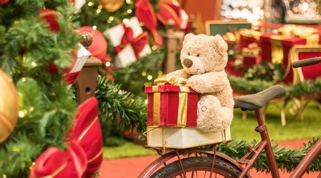 Shopping Itaguaçu preparou uma decoração interativa para o natal.