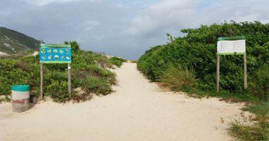 Floram fechará estacionamento da Praia do Santinho durante a madrugada