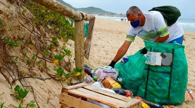 Cai produção de lixo nas festas de virada, mas segue alta nos domicílios