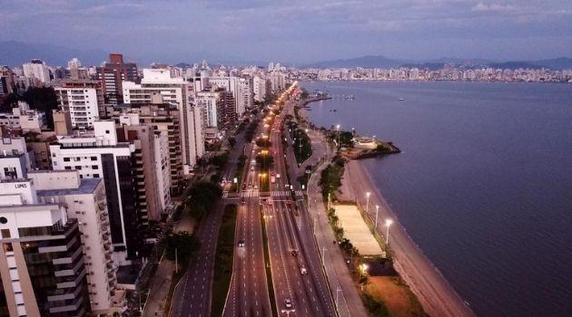 Florianópolis teve queda nas mortes no trânsito em 2020.