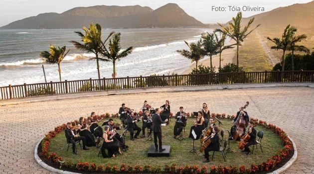 Camerata Florianópolis lança nesta sexta-feira CD Clássicos populares.