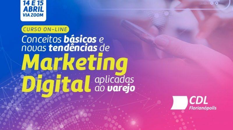 CDL promove curso sobre tendências de marketing digital para o varejo