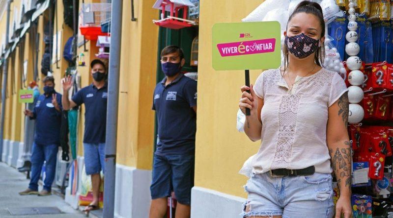 """CDL de Florianópolis lança campanha """"Viver é Confiar"""""""