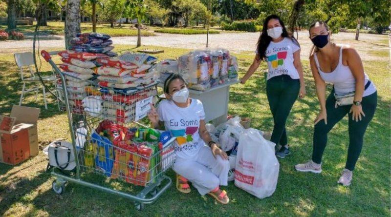Fundação Somar arrecada 8 toneladas de alimentos em Vacinação Solidária