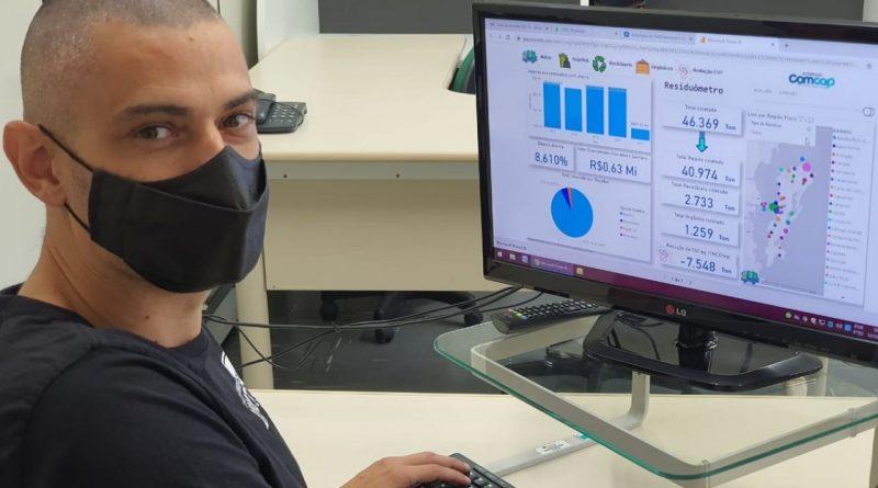 Novo sistema disponibiliza informações sobre resíduos em tempo real