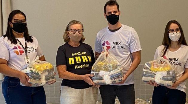 Empresa catarinense vai doar 5 mil cestas básicas para diminuir impacto da pandemia