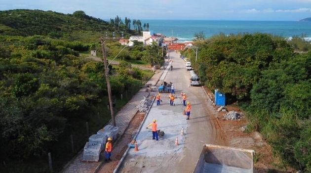 Obras na Lagoa da Conceição e Joaquina serão entregues em setembro.