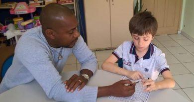 Creche municipal de Florianópolis, defende o direito de inclusão para todas as crianças